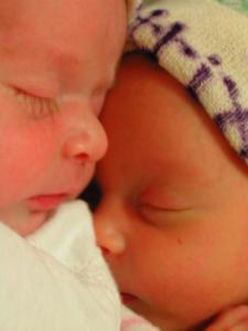 Stella Troyanowski Shippy and Beatrix Troyanowski Shippy are born